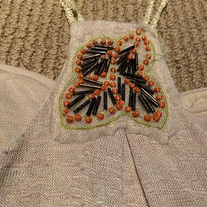 BKE Tops - Beaded embellished top